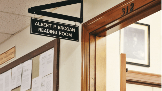 wag reading room sign for reese article 1